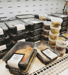 den lokala maten matlåda