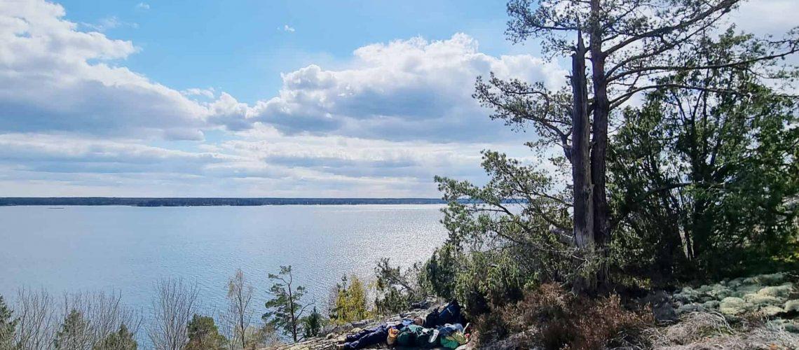 Den här vackra utsikten finns längs etapp 36, vid Näverkvarns klint.   I   Foto: Privat